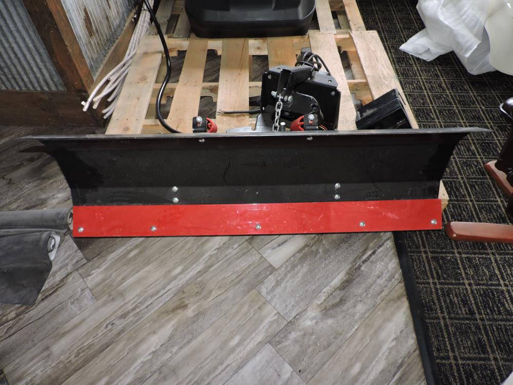 4  Foot. snow plow blade with hardware