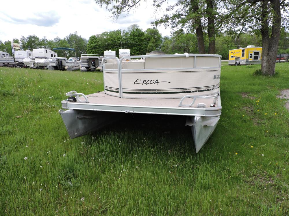 2001 Ercoa Flagship  23 ft. Pontoon -No Motor